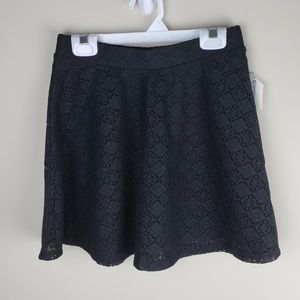 NWT | Aeropostale | X-Small | Lace Overlay Skirt